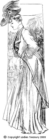 Ladies' Directoire Costume, c1906.