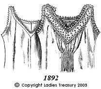 Two Chemises, 1892.