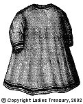 Front View, 1869 Child's Apron